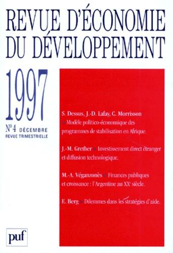 Revue-Economie-et-Developpement-1997-numero-4